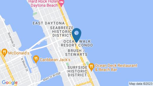 Ocean Walk Resort Map