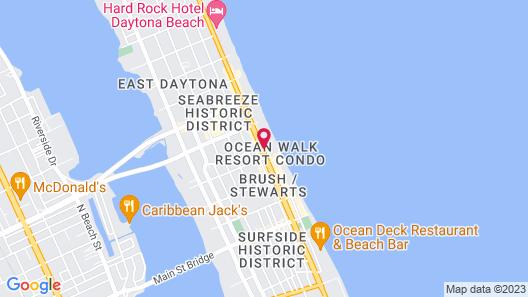 Club Wyndham Ocean Walk Map