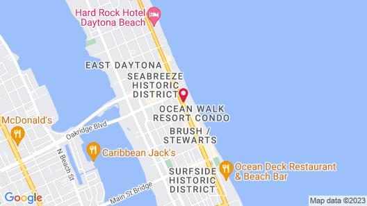 Daytona Beach Regency by Diamond Resorts Map