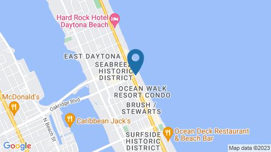 Daytona Grande Oceanfront Resort Map
