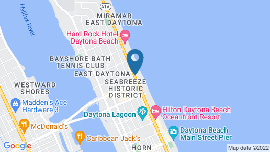 Ocean Breeze Club Hotel Map