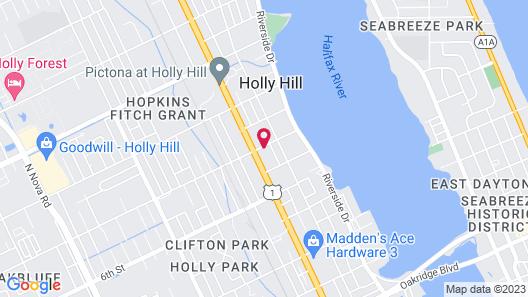 Fountain Inn & Suites Map