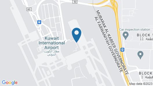 Safir Airport Hotel Map