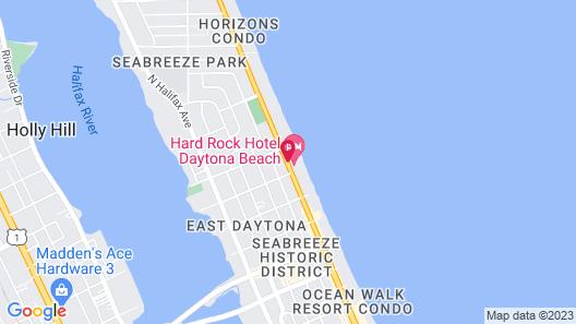 Hard Rock Hotel Daytona Beach Map