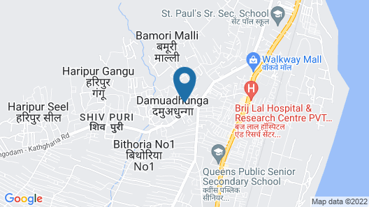 OYO 15794 Jatin Hotel Map