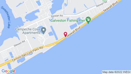 TownePlace Suites by Marriott Galveston Island Map