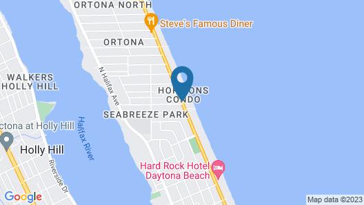 La Bella Oceanfront Inn Map