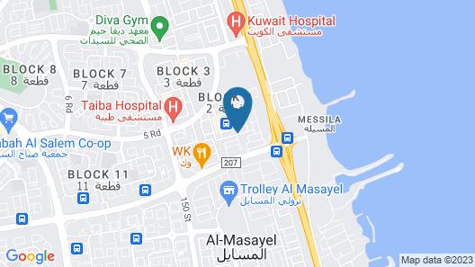 the 58 hotel sabah el salem Map
