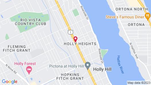 Tropizar Motel Map