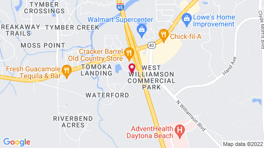 Extended Stay America Premier Suites Daytona Beach Ormond Be Map