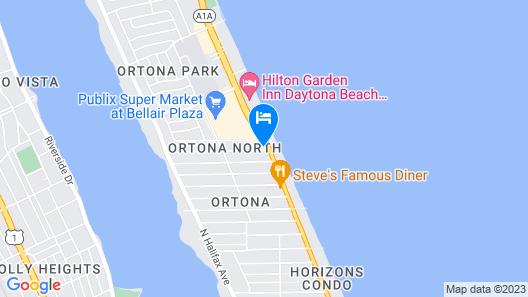 Daytona Beach Paradise 770 Map