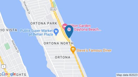 Grand Seas Resort Map