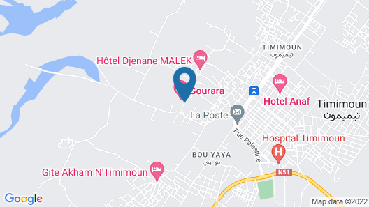 Hôtel Gourara Map