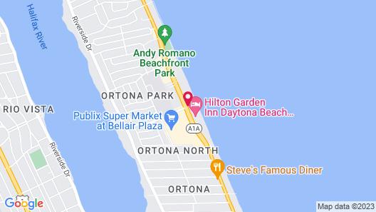 Daytona Beach Resort Map