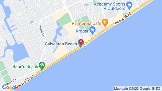 Casa Del Mar Beachfront Suites Onsite Team Map