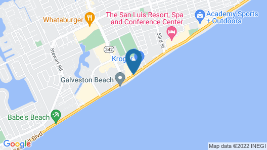 Beachfront Palms Hotel Map