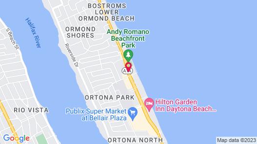 Ocean East Resort Club Map