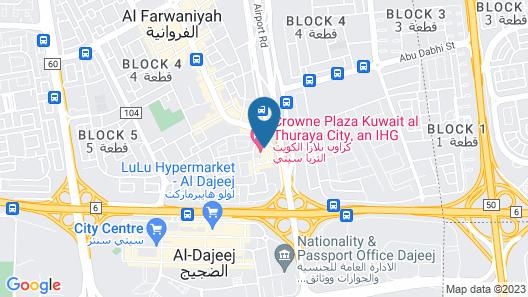 Holiday Inn Kuwait Al Thuraya City, an IHG Hotel Map