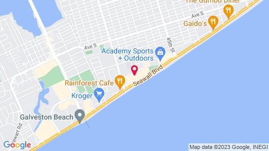 San Luis Resort Condos Map