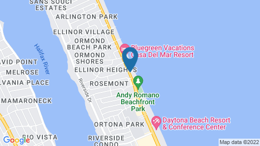 Home2 Suites by Hilton Ormond Beach Oceanfront Map