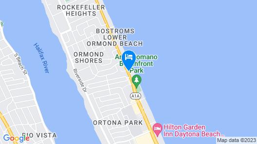 Home2 Suites by Hilton Ormond Beach Oceanfront Map