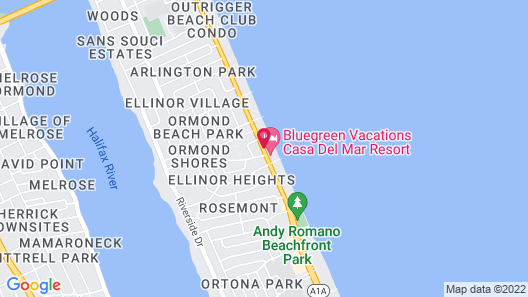OceanFront Inn and Suites Map