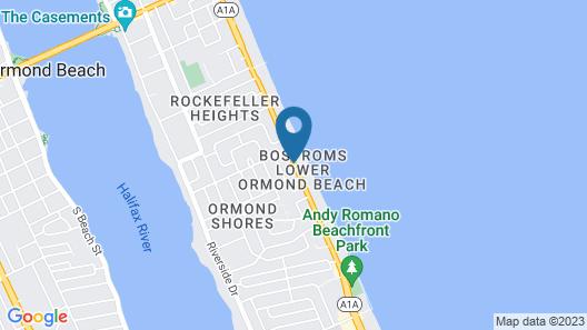 A1A Super Inn Map