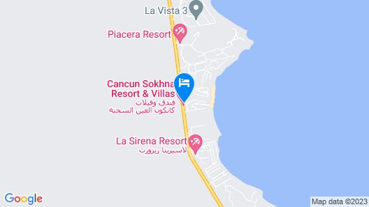Cancun Sokhna Resort Map