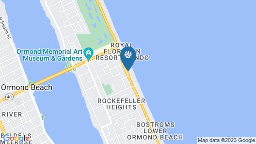 The Cove On Ormond Beach by Diamond Resorts Map