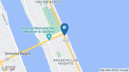 Royal Floridian Resort Map