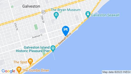 Hotel Galvez & Spa Map