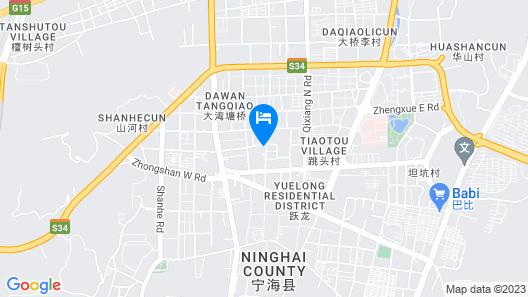 Tiandu Hotel Map