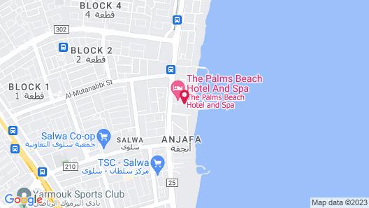 Radisson Blu Hotel, Kuwait Map