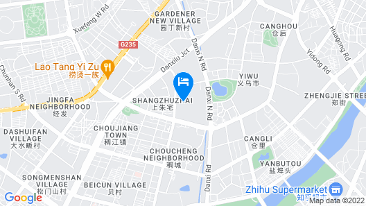 Yiwu kingdom hotel Map