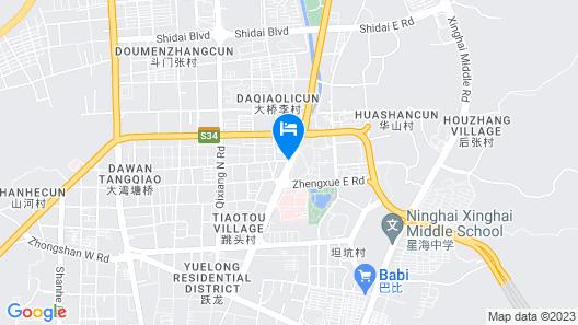 Ninghai New Century Hotel Map