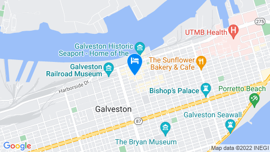 The Tremont House Map