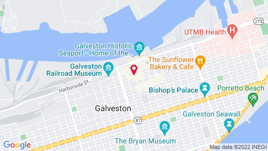 The Tremont House, A Wyndham Grand Hotel Map