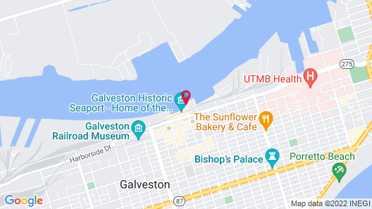Harbor House at Pier 21 Map