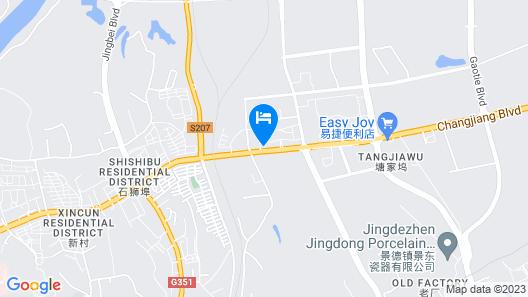 Fairfield by Marriott Jingdezhen Map