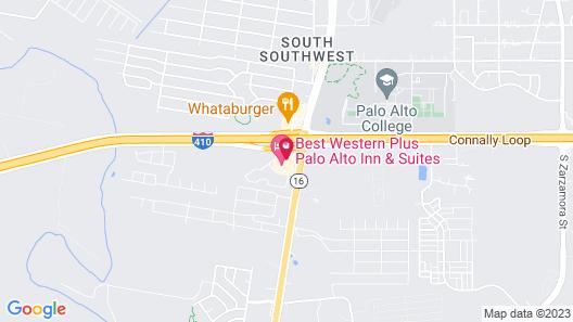 Best Western Plus Palo Alto Inn & Suites Map
