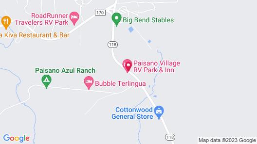 Paisano Village RV Park & Inn Map