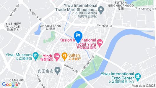 Byland World Hotel Yiwu Map