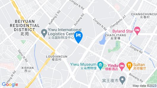 Jinjiang Inn Yiwu Map