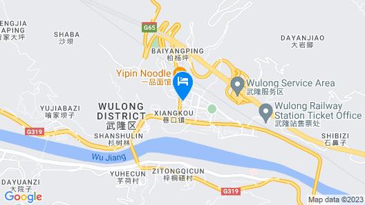 Wulong Kaidi Hotel Map