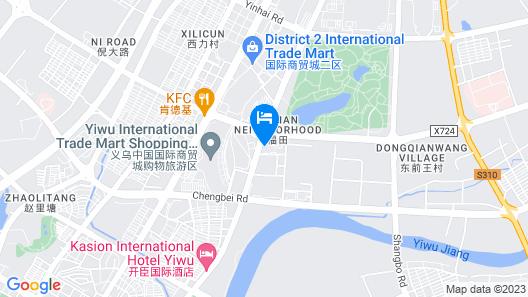 The International Trade City, Yiwu - Marriott Executive Apartments Map