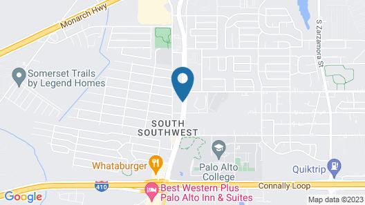 Days Inn by Wyndham San Antonio at Palo Alto Map