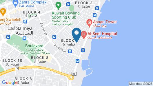 Bravo Royal Hotel Suite Map