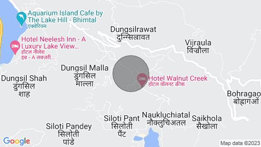 The Mountfords Arcadia Cottage, Bhimtal, Nainital Map