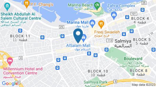Al Muhanna Plaza Salmiya Old Souk Map
