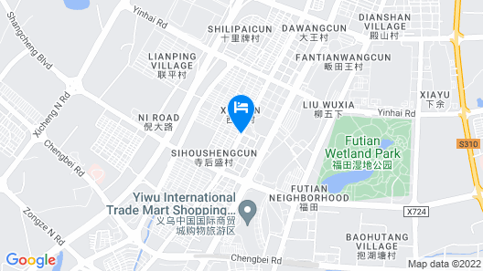 YiWu Defeng Hotel Map